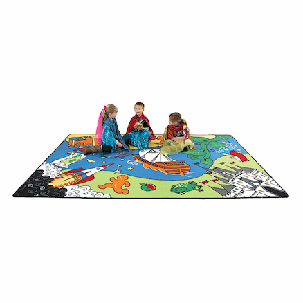 Role Play Story Creating Carpet  large