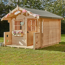 Log Cabin Playhouse  medium