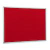 Aluminium Framed Noticeboard H600 x W900mm Grey  small