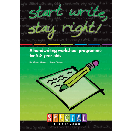 Start Write Stay Right Handwriting Workbooks  large
