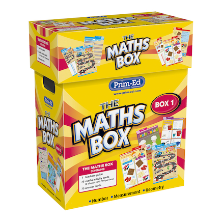 The Maths Activity Cards Box Year 1  large