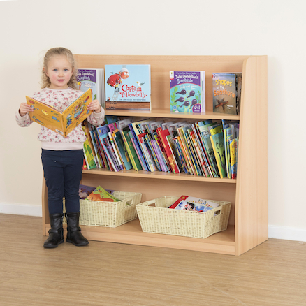 Fusion Open Shelf Bookcase  large