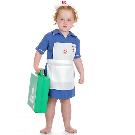 Role Play Dressing Up Nurse Outfit  large