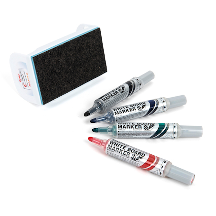 Pentel White Board Marker Eraser Set  large