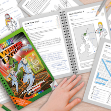 Writing Explorers Handwriting Activity Programme  medium