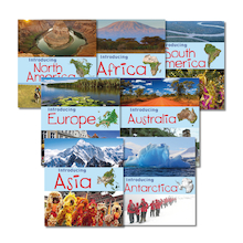 Introducing Continents Books KS1 7pk  medium