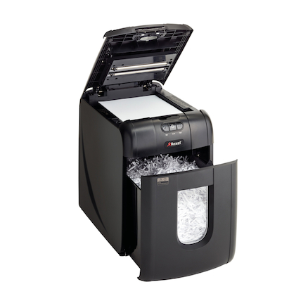 Rexel Auto Feed Cross Cut Shredder 20\-30L  large