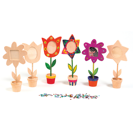 Wooden Flower Pot Frames  large