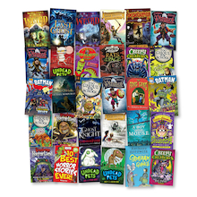 Year 5 and 6 Scary Story Books 30pk  medium