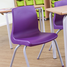 NP Classroom Chair and Crush Bent Table Pack  medium