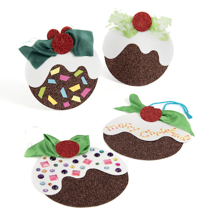 Christmas Pudding Cards  large