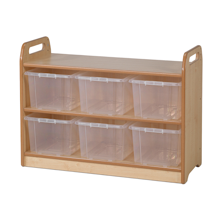 PlayScapes Shelf With Back H66 x 90cm  large