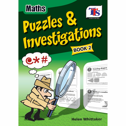 Maths Puzzles and Investigations Books  large