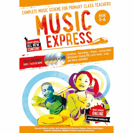 Music Express Book and CD Rom Age 5\-6  large