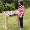 Outdoor Xylophone Table  small
