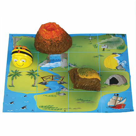 Bee\-Bot\u00ae and Blue\-Bot Treasure Island Mat  large