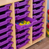 24 Shallow Tray Storage Unit Without Trays  small