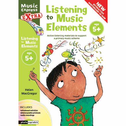Listening to Music Elements Book and CD 5+  large