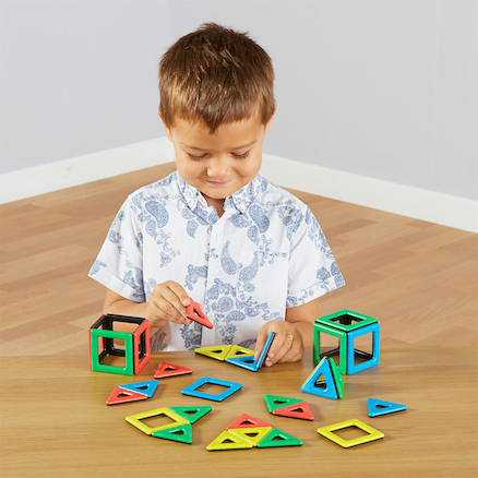 Magnetic Polydron Shape Set  large
