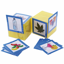 Drug And Alcohol Foam Dice Cards  medium