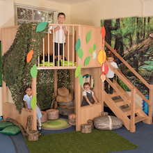 Indoor Two Floor Play Loft H2.4cm  medium