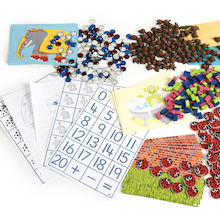 Dr Rose Griffiths Maths Counters Games 4pk  medium
