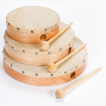 Hand Drums and Beaters  large