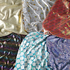 Metallic Print Fabric 6pk  small