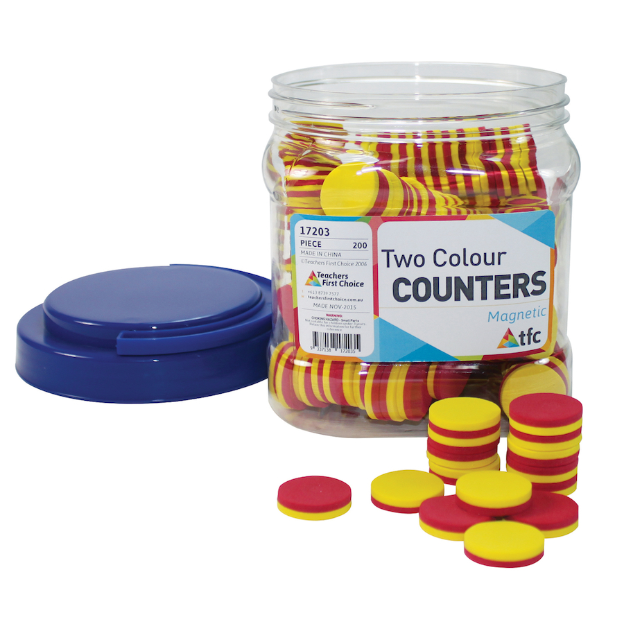 Buy Magnetic Two Colour Counters Tts