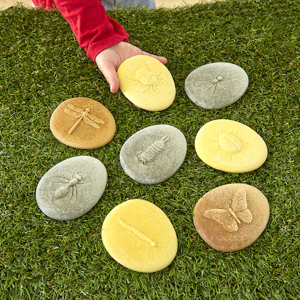 Bug Discovery Stones 8pk  large