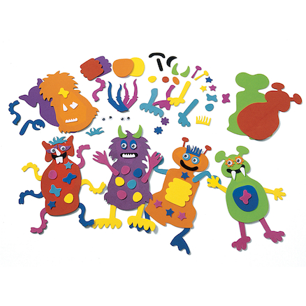 Foam Shaped Monsters  large