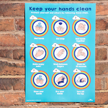 Outdoor Handwashing Display board  medium