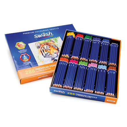 Premium Blendable Colouring Pencils Assorted 288pk  large