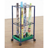 Active World Tuff Tray Mat Metal Storage Trolley  small