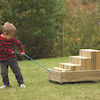 Outdoor Wooden Play Furniture Selection  small