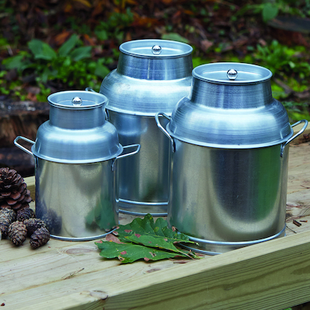 Metal Churns 3pcs  large