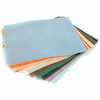 Assorted Plastic Canvas Sheets 26 x 33cm 12pk  small