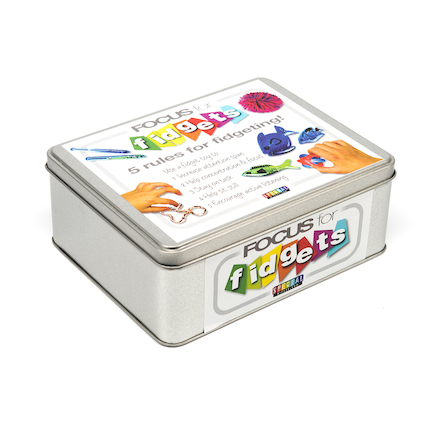 Fidgets Storage Tin  large