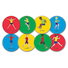 Action Station Gym Spots 8pcs  small