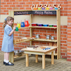 Outdoor Wooden Shelving Unit  small
