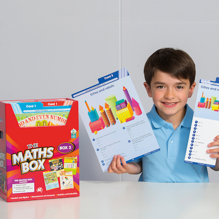 The Maths Activity Cards Boxes  large