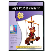 Toys Past and Present CD ROM  medium