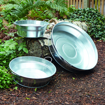 Metal Creative Tubs 3pk  large