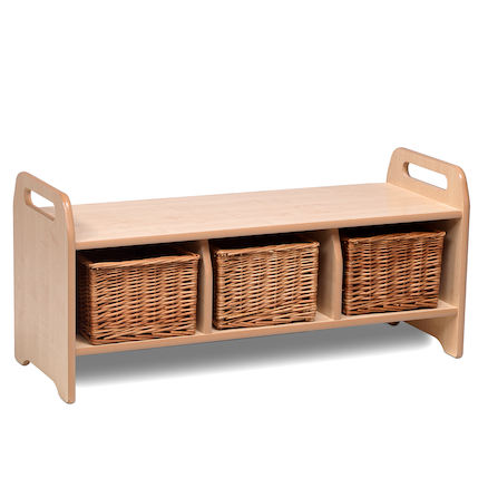 Playscapes Cloakroom Storage Bench  large