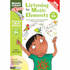 Listening to Music Elements Book and CD 5+  small