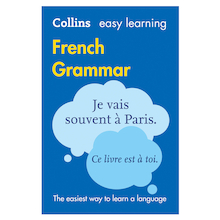 Collins Easy Learning French Grammar  medium