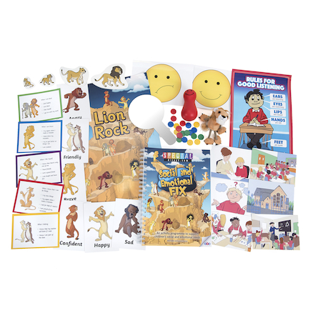 Social And Emotional Needs Intervention Kit  large