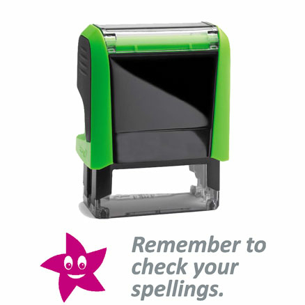 Self Inking Marking Stamps 46 x 18mm  large