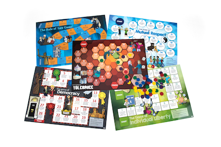 British Values Board Games 5pk  large