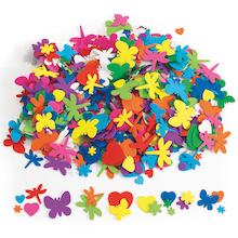 Foam Shapes Assortment 500pk  medium